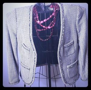 J. Crew classic tweed blazer